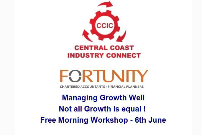 Managing Growth Workshop – 6th of June