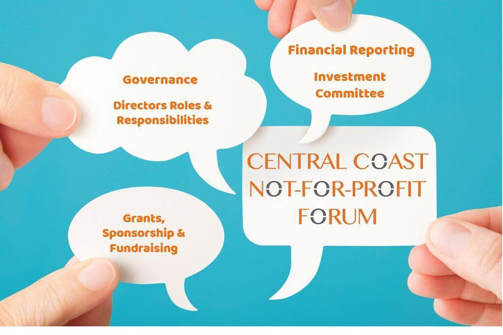 Central Coast Not-For-Profit Forum 3 – Grants, Sponsorship and Fundraising