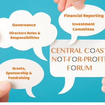 Fortunity; NFP Accountant; Central Coast Not-for-profit Forum